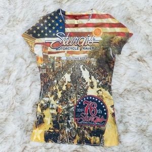 Tops - NWT Sturgis Motorcyle Rally 2016 shirt
